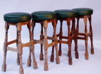 *Four tall bar stools
