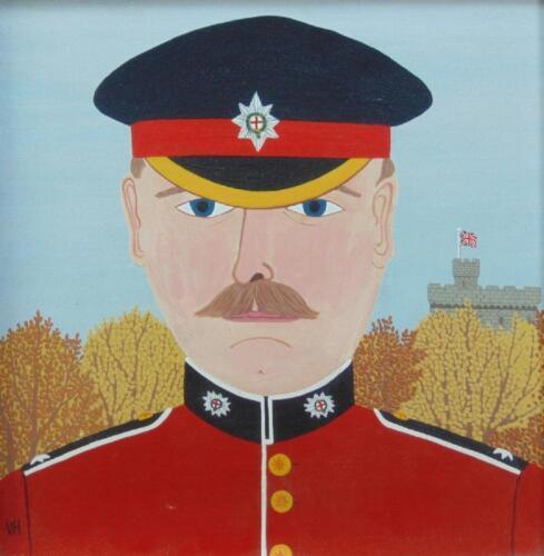 Vincent Haddelsey (1934-2010). Coldstream Guards