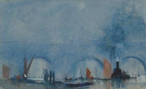 Hercules Brabazon Brabazon (1821-1906). The Thames London