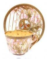 An early 20thC Noritake breakfast cup and saucer