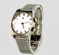 A 1970s Tissot Sea Star Sonorous gentlemans stainless steel wristwatch