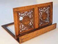 A parquetry music stand