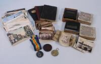 Various WWI related medals