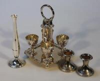 Various silver plate