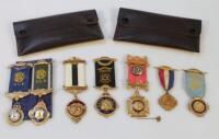 Various Masonic medals