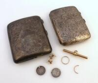 A George V cigarette case