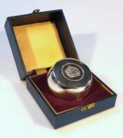 A Queen Elizabeth II silver Jubilee Commemorative trinket box
