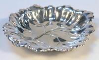 An Elizabeth II silver dish