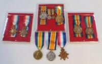 Various WWI medals