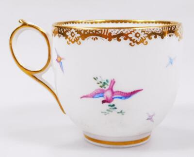An early 19thC Coalport porcelain cup and saucer - 5