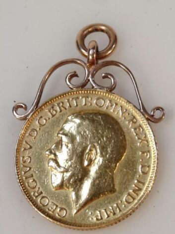 A George V full gold sovereign