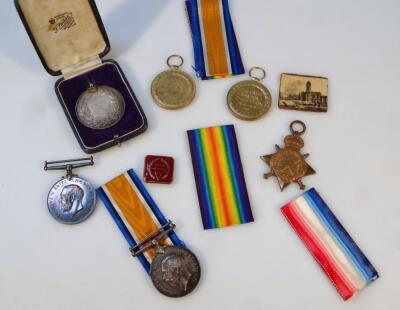 Three part WWI medal groups
