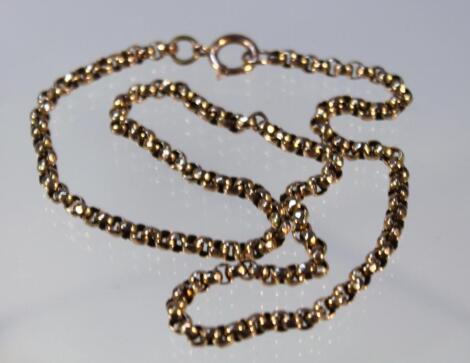 A belcher necklace
