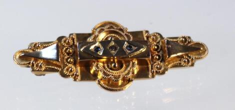 An early 20thC brooch