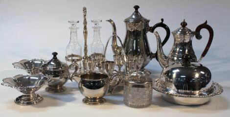 Various early 20thC and later silver plate