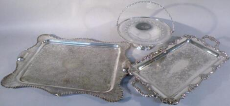 Various early 20thC silver and later silver plate