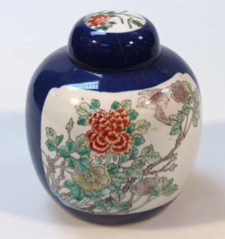 An early 19thC Chinese ginger jar