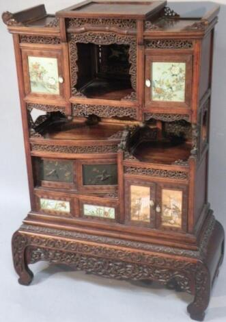 A late 19thC Japanese hardwood shodhana