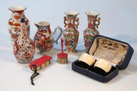Various oriental ceramics