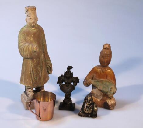 Various oriental figures
