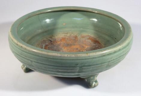 A Chinese celadon earthenware bowl