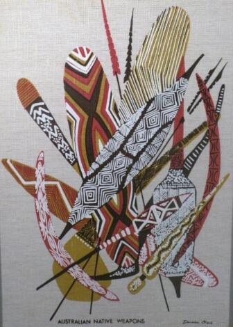 *Donald Clark (1928-2008). Australian Native Weapons