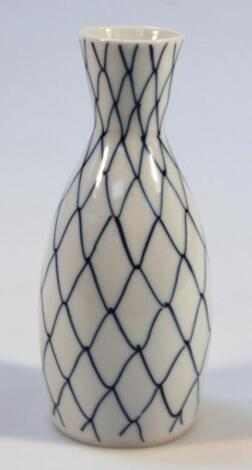 A Chinese earthenware vase