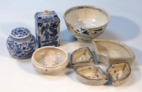 A Hoi An hoard glazed terracotta bowl
