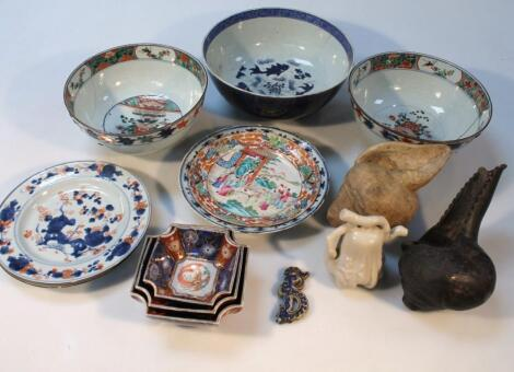 Various 18thC and later Chinese export porcelain