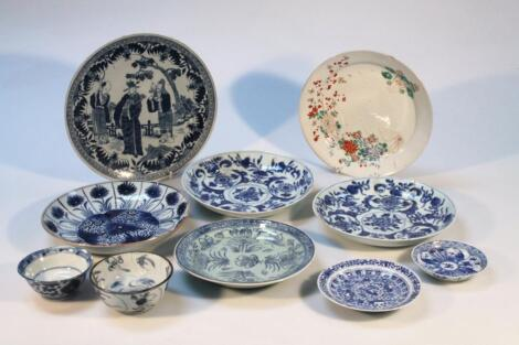 Various 18thC and later Chinese and other export ware