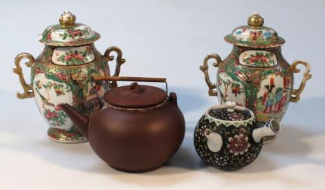 Various 19thC and later Chinese and other wares