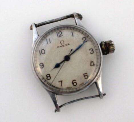 A mid-20thC gentleman's Omega wristwatch