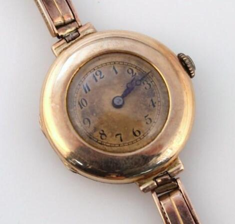 A ladies cocktail watch