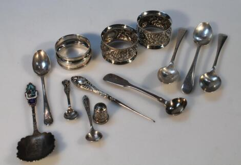 Various Victorian and later silver