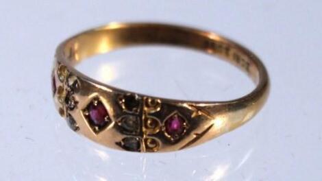 An Edwardian dress ring