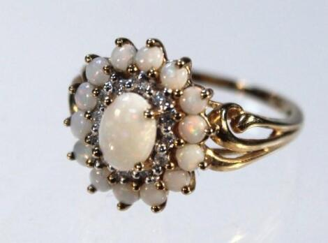 A cluster ring