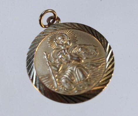 A St Christopher pendant