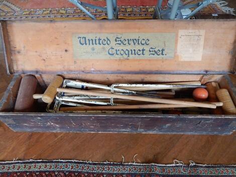 A United Service Croquet set