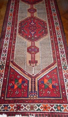 A large Ardebil runner carpet