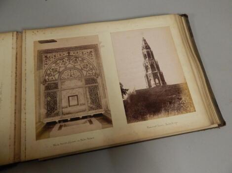 An album of 19thC photographs