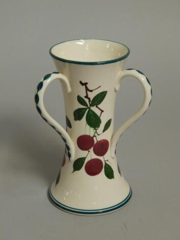 A Wemyss pottery tyg