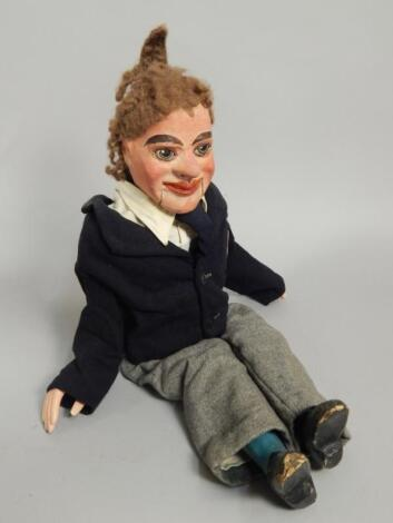 A mid 20thC ventriloquist dummy
