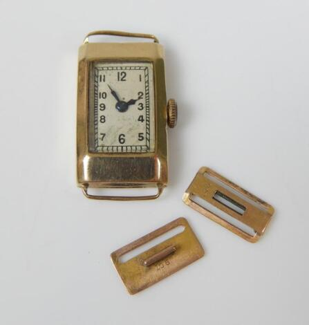 An Omega watch head