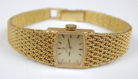 An Omega ladies wristwatch