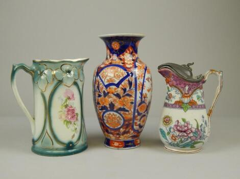 A collection of late 19th/early 20thC porcelain