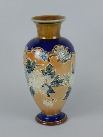 A Royal Doulton stoneware vase