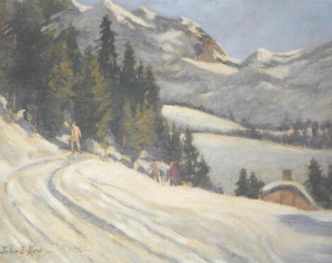 John E Kay. End of the Ski Run
