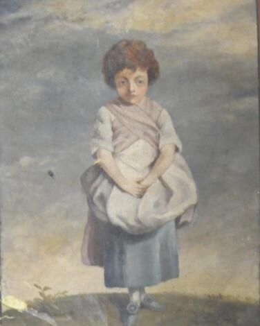 18th/19thC Continental School. Country maiden