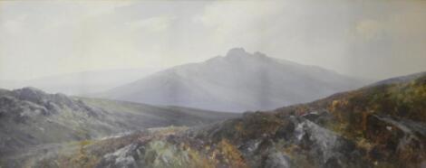 Frederick John Widgery (1861-1942). Moorland landscape