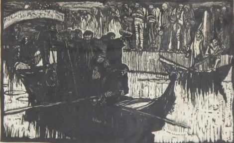 William de Belleroche (1912-1969). A Venetian funeral